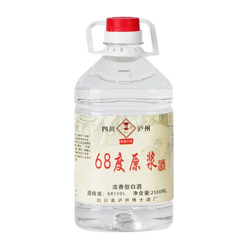 浓香型68度原浆基酒